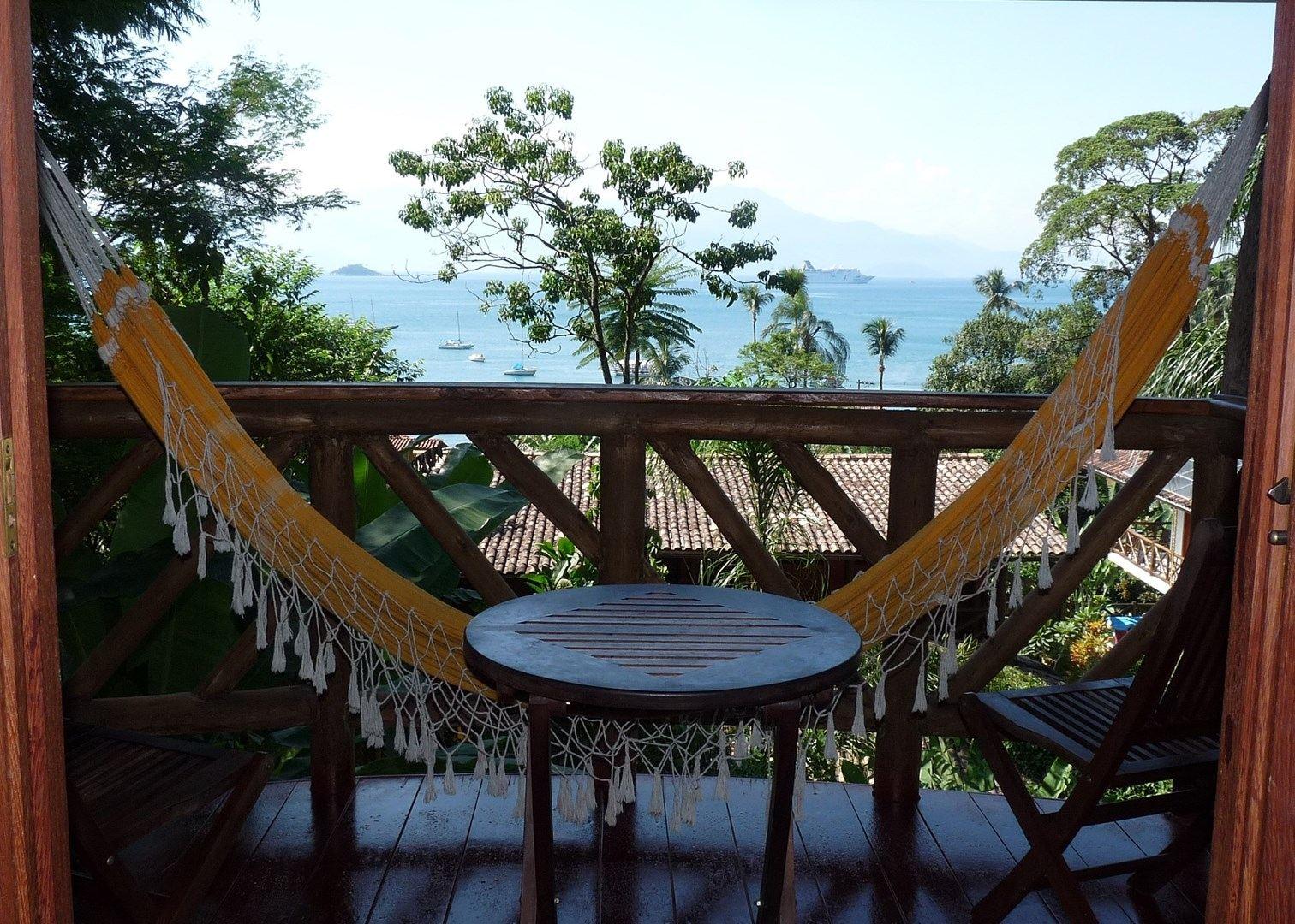 Hangmat Op Balkon : Reisen