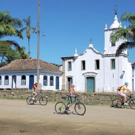 Mountbike Exkursion Paraty Brasilien