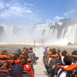 Foz do Iguacu Gran aventura Boot Exkursion Brasilien